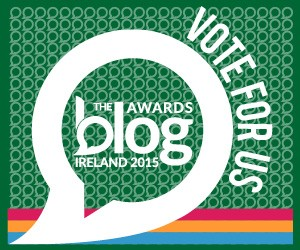Vote for Here's How at the Blog Awards Ireland 2015