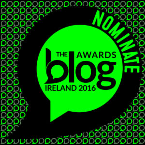 Nominate Here's How is for the Blog Awards Ireland 2016