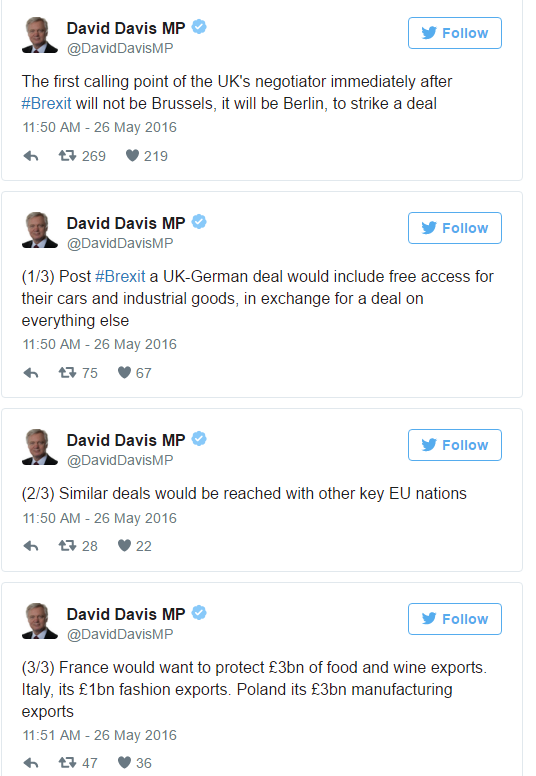 David Davis Tweets